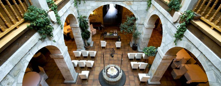 Claustro interior, donde se llevan a cabo ceremonias civiles