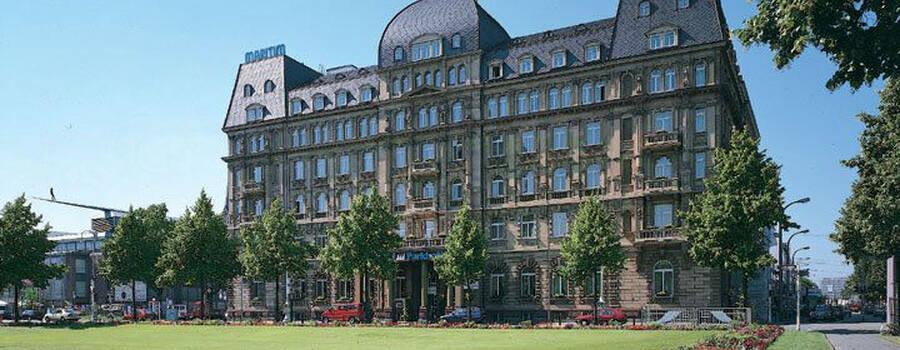 Beispiel: Außenansicht, Foto: Maritim Park Mannheim.