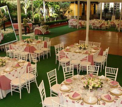 banquete de boda Mont Blanc en Ciudad de México