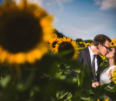 Beispiel: Hochzeitsfotos der besonderen Art, Foto: Robin Schimko Photography.