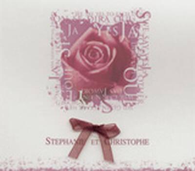 Beispiel: Hochzeitskarten, Foto: Druckerei Metzen.