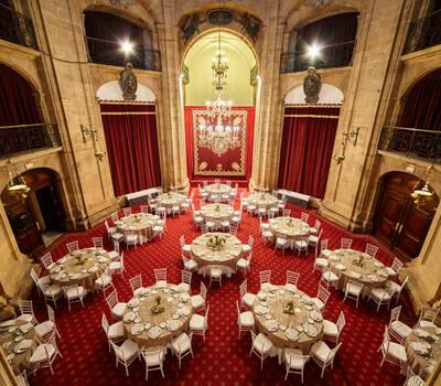 Salón interior banquete