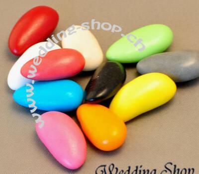 Beispiel: Hochzeitsmandeln multicolor, Foto: Wedding Shop.