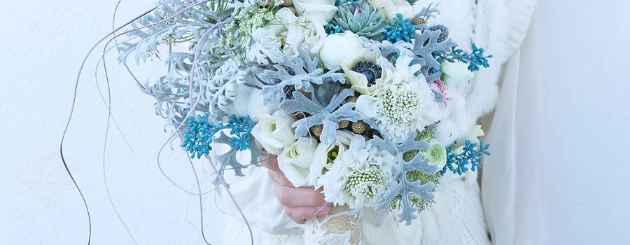 Ramo novia invierno Flowercap