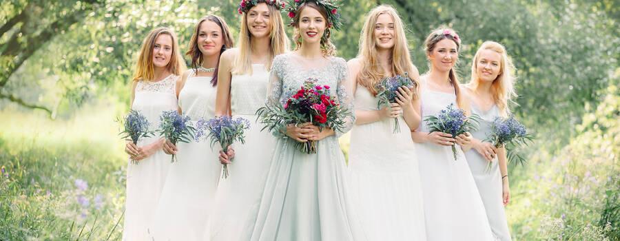 Невеста и её очаровательные подруги