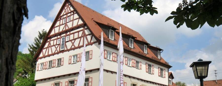 Beispiel: Vorderansicht, Foto: Romantik Hotel Altes Amtshaus.