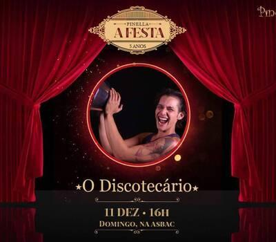 Flyer 11/12/16 - Pinella A Festa 5 Anos