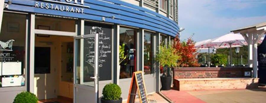 Beispiel: Außenansicht, Foto: Teepott-Restaurant.