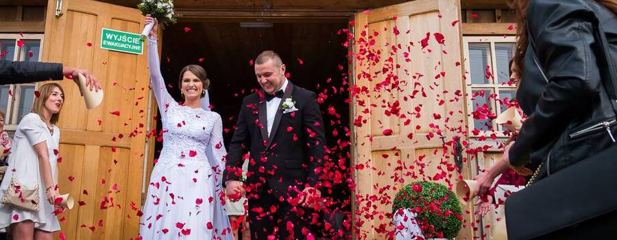 Piękne emocje ślubne - Frania i Robert