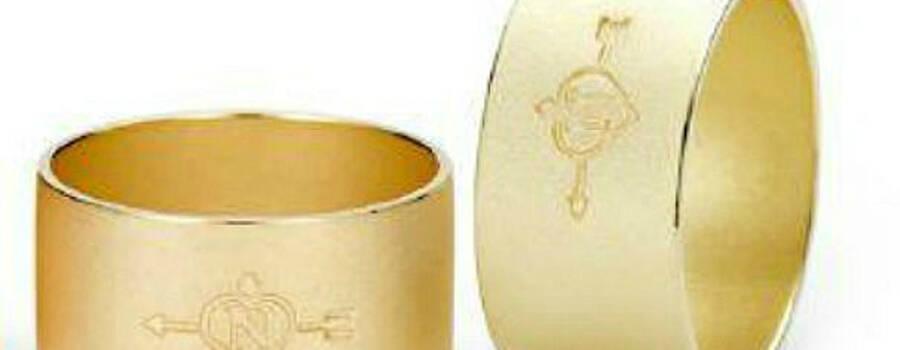 Beispiel: Trauringe - Gold, Foto: Juwelier Knewitz: