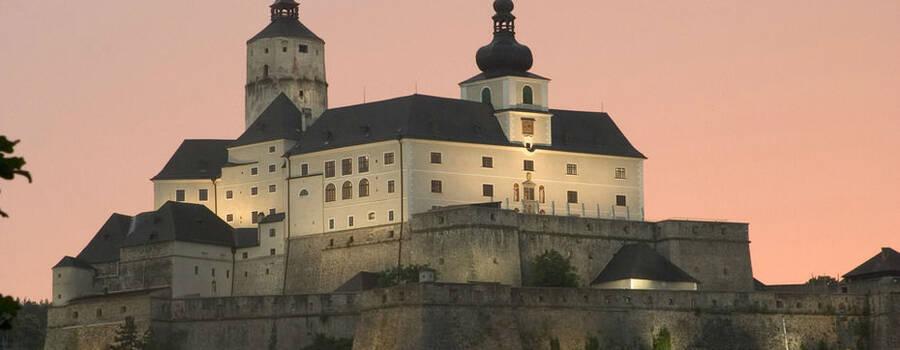 Beispiel: Die Burg, Foto: Burg Forchtenstein.