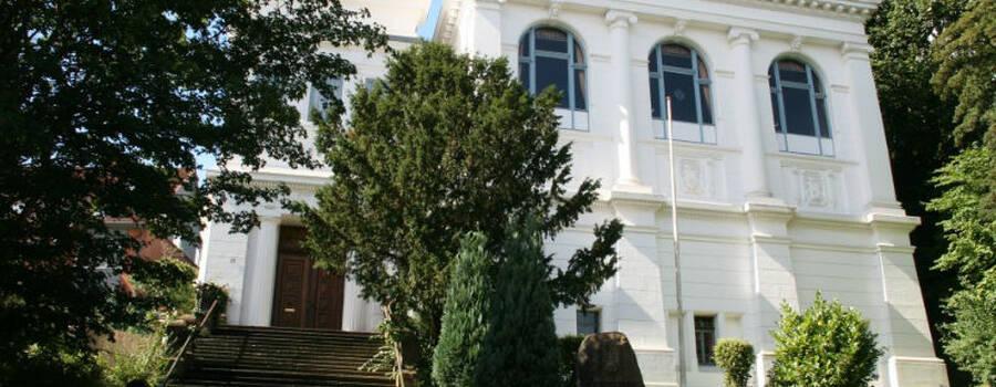 Beispiel: Außenansicht, Foto: Logenhaus Flensburg.