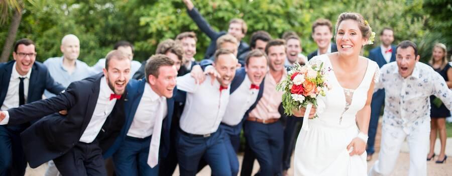Mariage naturel sur le vif