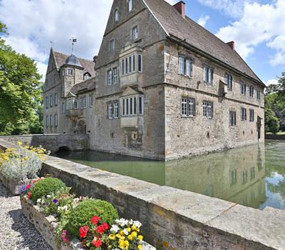 Beispiel: Aussenansicht, Foto: Wasserschloss Hülsede.