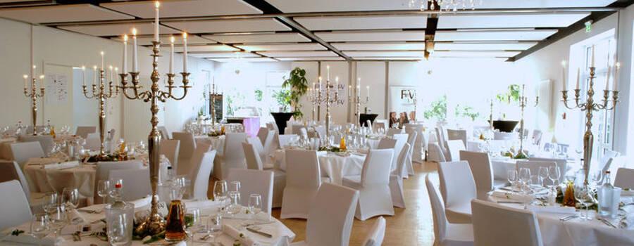 Beispiel: Eventbereich - Bankett, Foto: Hotel VIVA CREATIVO.