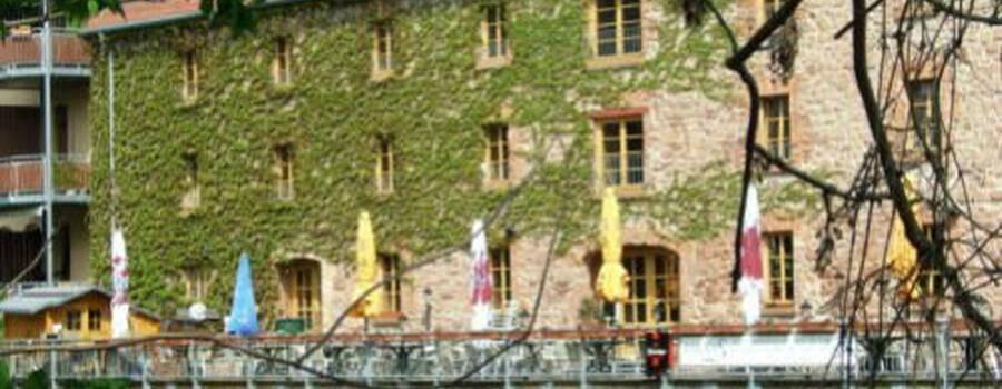 Beispiel: Außenansicht auf die Terrasse, Foto: Palais´S Gastro.