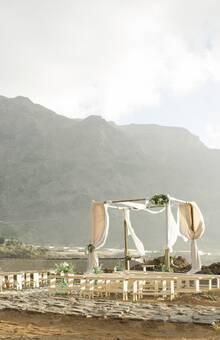 Ceremonia al aire libre en Tenerife