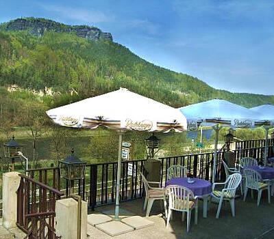 Beispiel: Terrasse, Foto: Hotel Lindenhof.