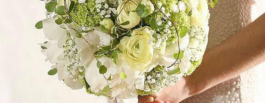 Beispiel: Einzigartige Brautsträuße, Foto: Edelkraut Event-Floristik.