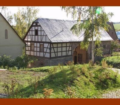 Beispiel: Einfahrt, Foto: Denkmalhof Schlagwitz.