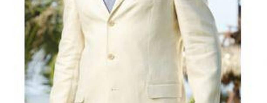 Guayaberas y trajes de lino para novio en Guadalajara por Camasha