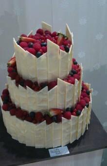 Kreative Schokolade Hochzeitstorten, Foto: Brugger's My Wedding Cake.