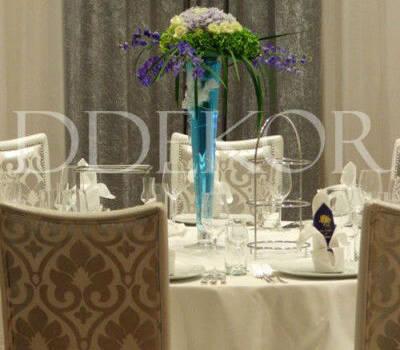 Beispiel: Hochzeitsgedeck, Foto: DDEKOR.