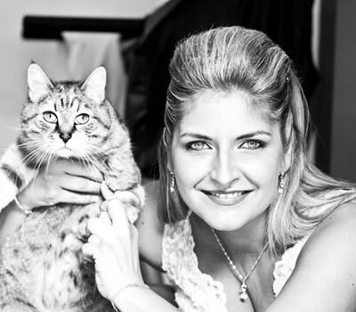 Foto Impressioni - Preparativi sposa. Il gatto...