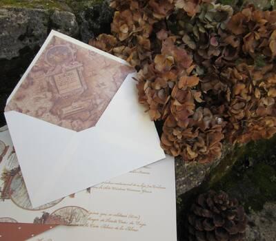 Invitaciones a caligrafía