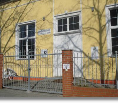 Beispiel: Aussenansicht Tanzsaal an der Panke, Foto: Tanzsaal an der Panke.