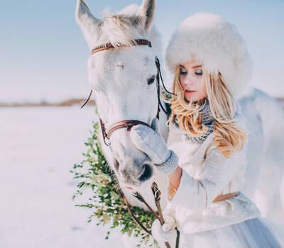 Свадьба зимой. Свадебный фотограф Марина Назарова.