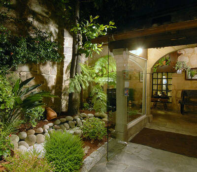 Entrada Hotel Gastronómico Casa Rosalia