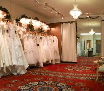 Beispiel: Das Geschäft, Foto: Brautmode-VIP.