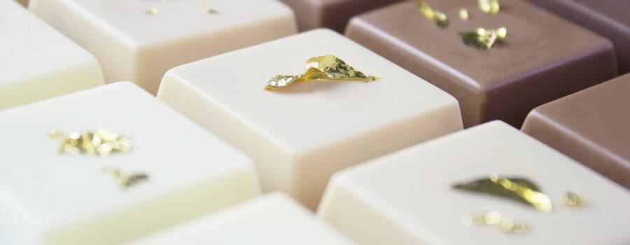 Wafer de Nutella com folha de ouro: delicioso e crocante!