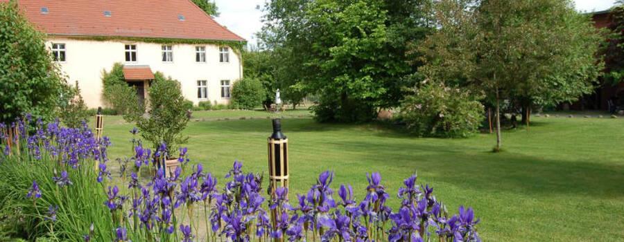 Beispiel: Garten des Gutes, Foto: Gut Wendgräben.