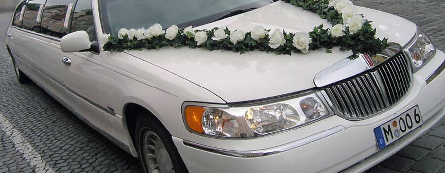 Beispiel: Hochzeitslimousine, Foto: Limorent.