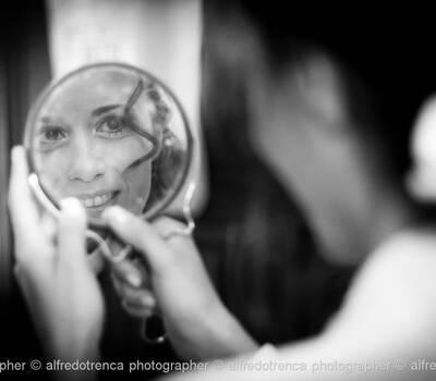 la sposa, preparativi © Alfredo Trenca