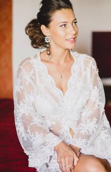 Lisa Bodrug maquillaje de novia