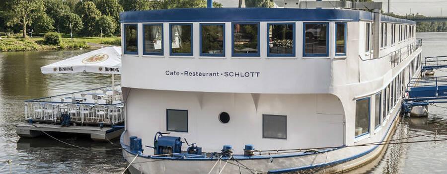 Beispiel: Vorderansicht, Foto: Café Restaurant Schlott.