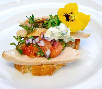 Beispiel: Köstliche Kreationen, Foto: Stapel - Feines Catering.