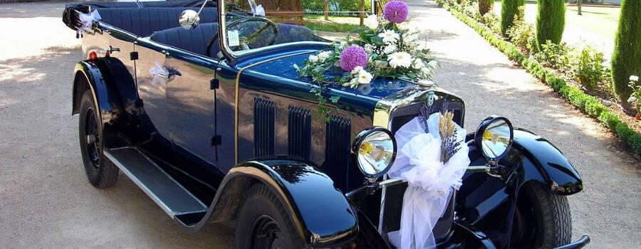 f location retro mariage