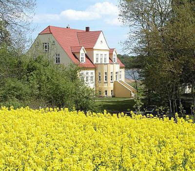 Beispiel: Das Gutshaus, Foto: Gut Grubnow Rügen.