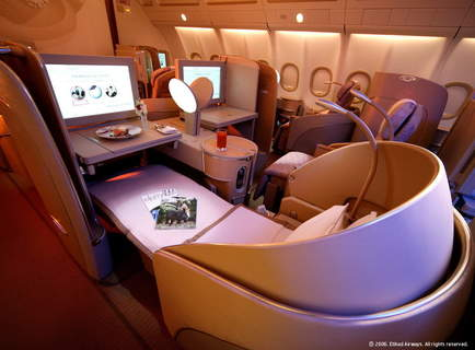 Upgrade to first class flights