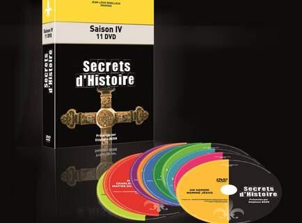 Lots de 4 Coffrets `Secrets d'histoire`