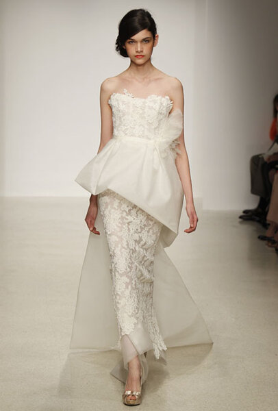 Vestido de novia de Amsale primavera 2013