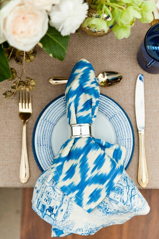 Azul ceruleo color en tendencia para primavera 2014 foto aislinn kate photography