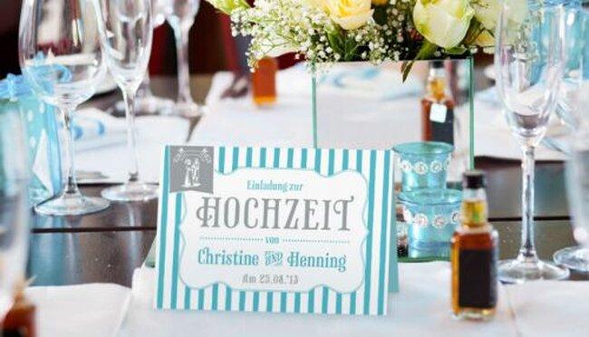 Hochzeitskarte. Foto: Paper Boutique