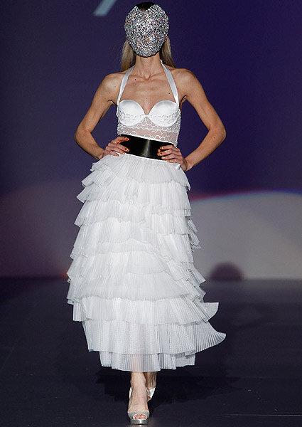 Bielizna ślubna z kolekcji Emperatriz 2013