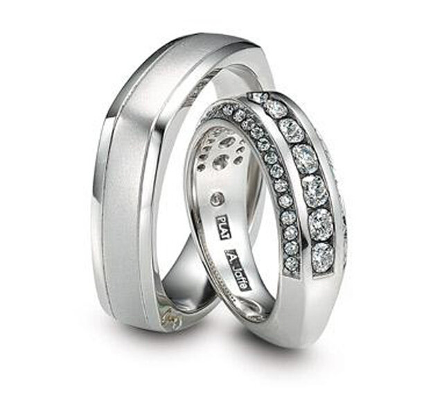 Foto: Jaffe Platinum Wedding bands