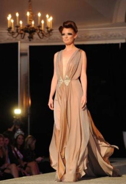 Vestido para convidadas de Teresa Rosati. Foto: Teresa Rosati
